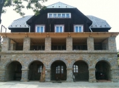 Holubyho chata po rekonstrukci