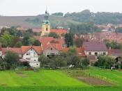 Nivnice - pohled na obec (autor: palickap)