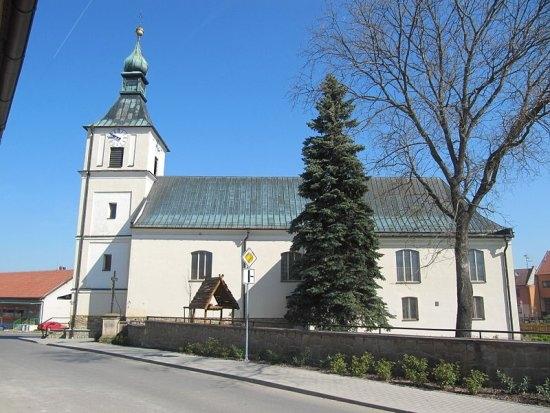 Boršice u Blatnice - kostel sv. Kateřiny (autor: Palickap)