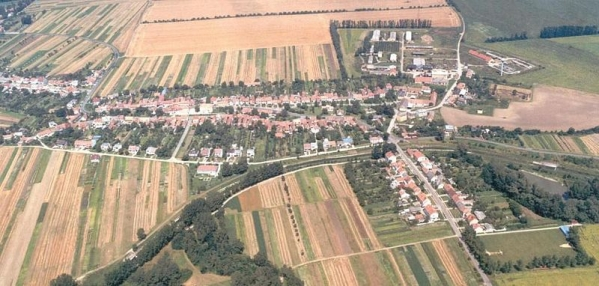 Tasov - letecký pohled