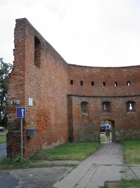 Strážnice - původní renesanční brána (autor: Manka)