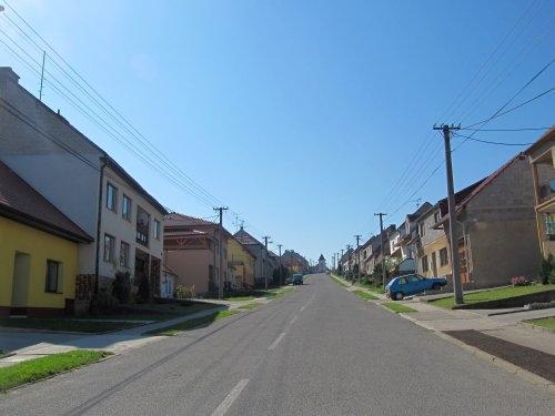 Suchov - hlavní ulice